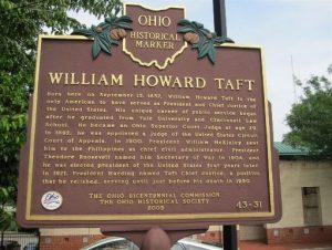 William Howard Taft - Ohio Presidential
