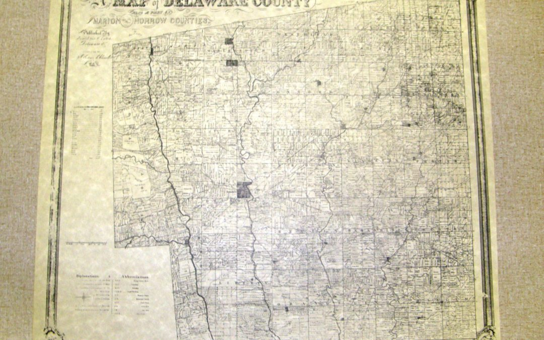 Conklin: An old Delaware County map