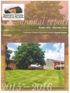 2016 Annual Report - Delaware County Historical Society - Delaware Ohio 43015