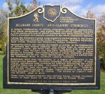 Historic Marker - Underground Railroad - Delaware County Ohio