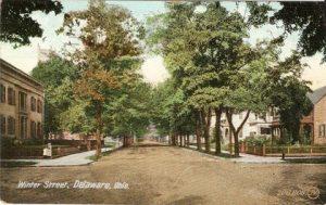 Winter Street - History Walks - Delaware Ohio - Delaware County Historical Society