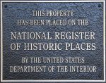 National Registry of Historic Places - Plaque - History Websites - Delaware County Ohio