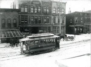 Streetcar - Dinkey - Dinky - Delaware County Historical Society - Delaware Ohio