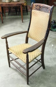 Delaware Arm Chair - Delaware Chair Company - Delaware County Historical Society - Delaware Ohio