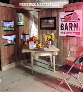 Barn Display - Fair Booth 2017 - Delaware County Fair - The Barn at Stratford - Event Venue - Delaware Ohio