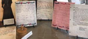 Thank You Letters - The Hair Studio Window - Delaware County Historical Society - Delaware Ohio