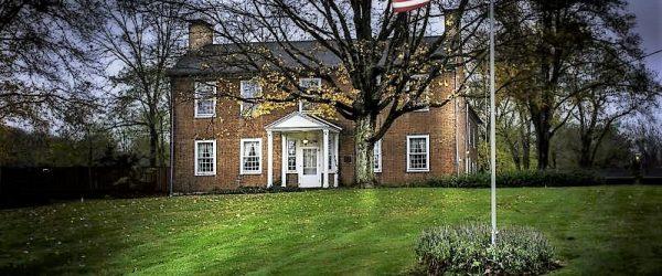 Meeker Homestead - Historic Property - Delaware County Historical Society - Delaware Ohio