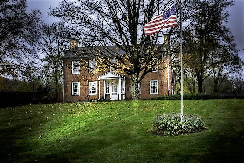 Meeker House Museum - 1820s Historic Home - Delaware County Historical Society - Delaware Ohio
