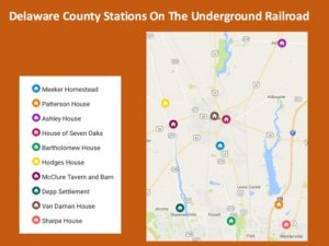 Underground Railroad Stations in Delaware County Ohio - Delaware County Historical Society - Delaware Ohio