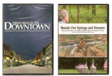 DVD Combo - Delaware County Historical Society - Delaware Ohio