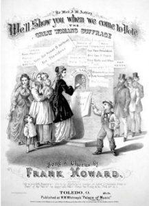 Suffrage Poster - History Program - Kelton House - Columbus Ohio