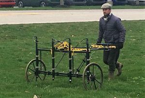 Ground Penetrating Radar - Meeker Homestead - Delaware County Historical Society - Delaware Ohio
