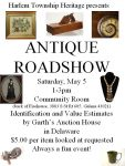 Antique Roadshow - Harlem Twp Heritage - Delaware County History Network - Delaware Ohio