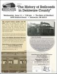 Railroads in Delaware County - History Program - Delaware County Historical Society - Delaware Ohio