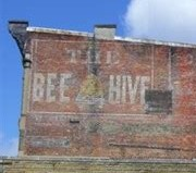Bee Hive - Ghost Signs - Delaware County Historical Society - Delaware OH