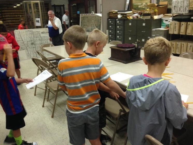 Scavenger Hunt - School Local History Program - Delaware County Historical Society