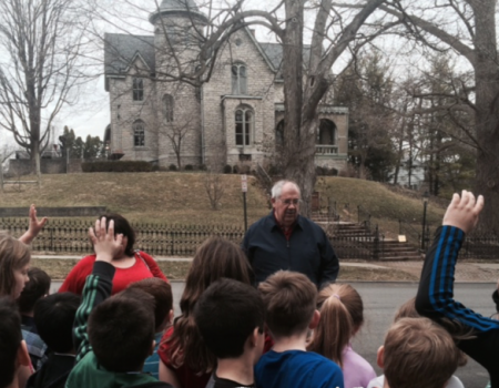 School Local History Program - Walking Tour Winter Street - Delaware County Historical Society - Delaware Ohio