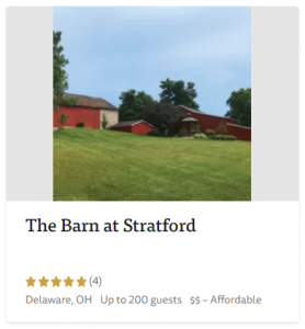 The Knot - Barn Weddings - The Barn at Stratford - Event Venue - Delaware Ohio