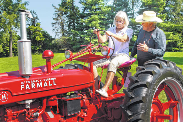 """Tractor 'Virginia"""" finds new life at The Barn"""