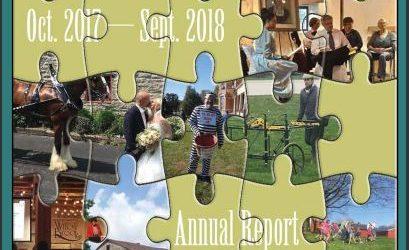 2018 Annual Report - Delaware County Historical Society - Delaware Ohio
