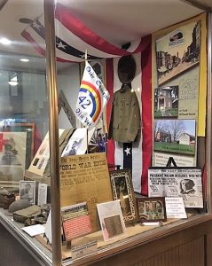 Veteran's Day - World War I - History Display - The Hair Studio - Delaware County Historical Society - Delaware Ohio
