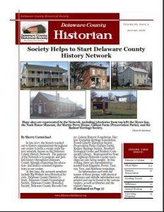 Delaware County Historian - Newsletter - Delaware County Historical Society - Delaware Ohio