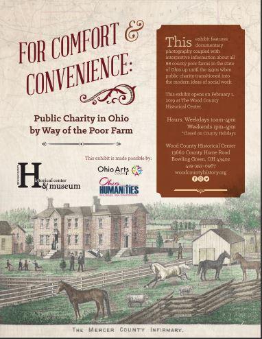 Wood County Historical Society - Ohio Poor Farm Exhibit