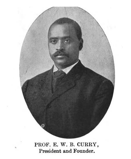 The Curry School - Prof E W B Curry - Delaware County Historical Society - Delaware Ohio