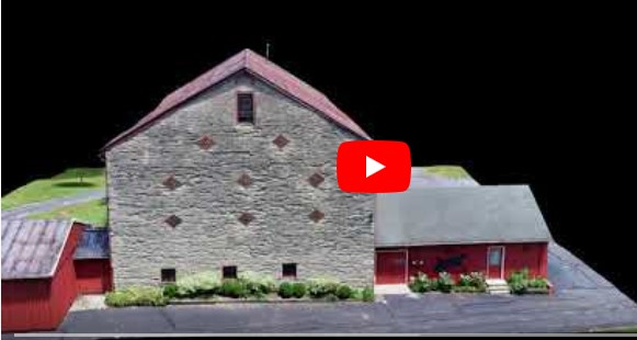 3D Video of Historic Barn at Stratford