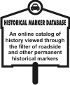 Historic Marker database - ind website