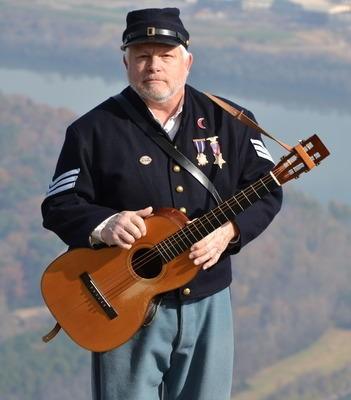 Steve Ball - Civil War Musician - DCHS Volunteer Recognition Event - Delaware County Historical Society - Delaware Ohio