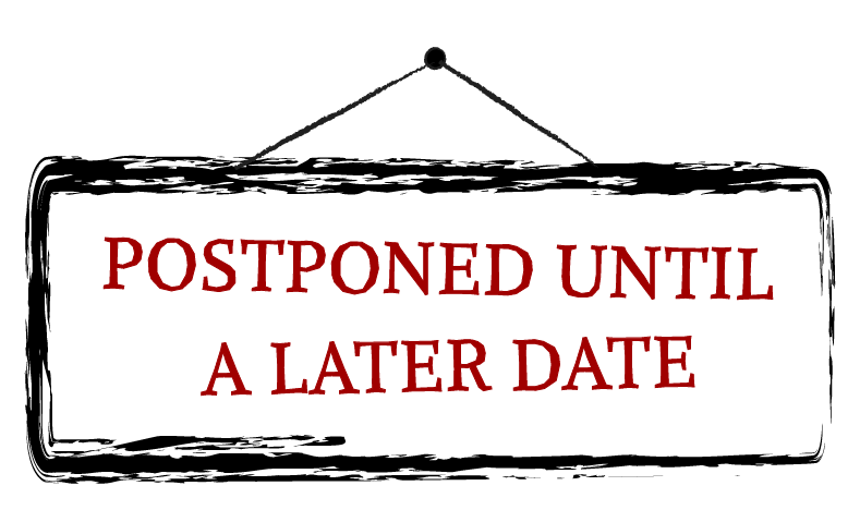 COVID-19 Postpones Society  Events