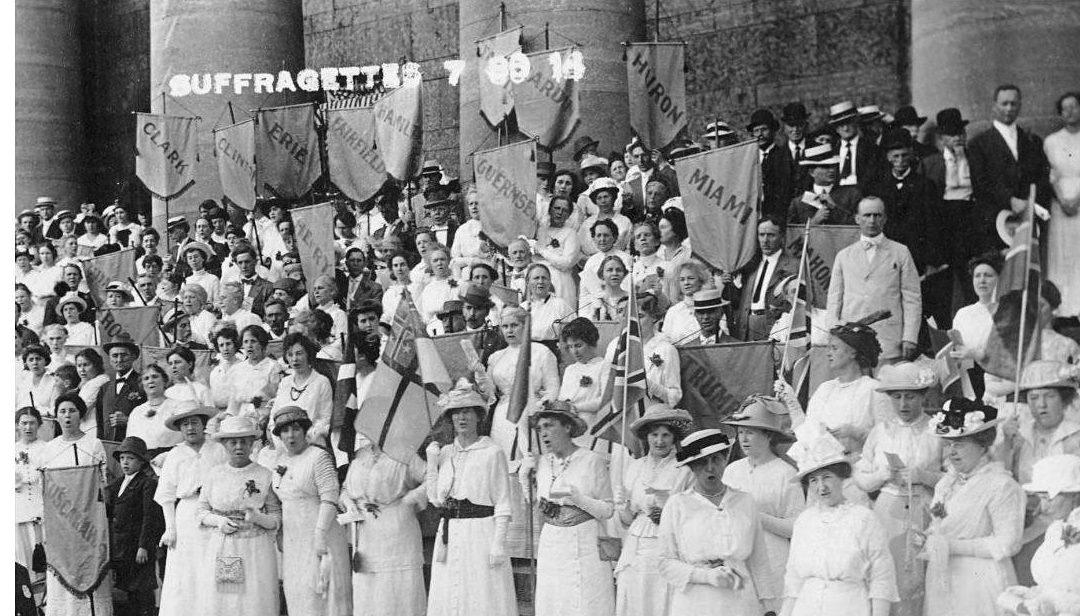 Women's Suffrage Program