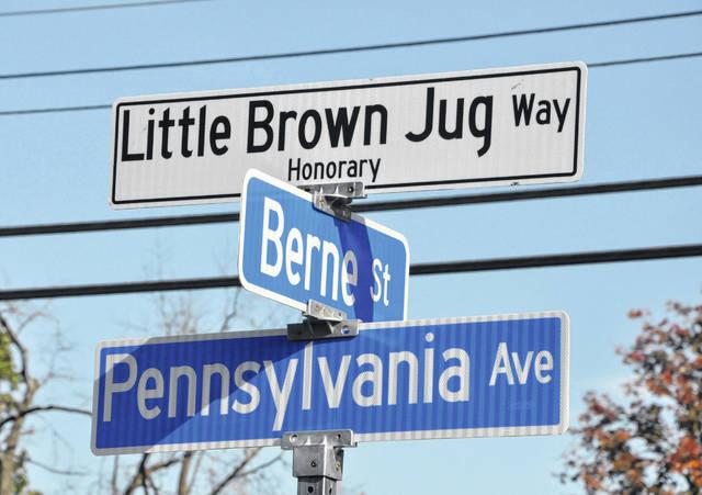 Jug given honorary street designation