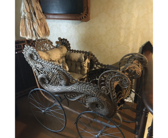 Adopt-A-Memory -  Ornate Baby/Child's Carriage