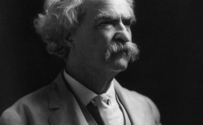 Mark Twain came to Delaware County