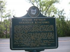 Polish Patriot Thaddeus Kosciusko History Marker