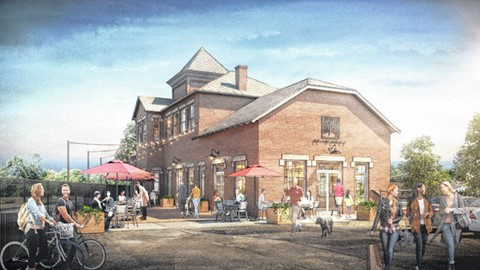 Historic train station to be revitalized