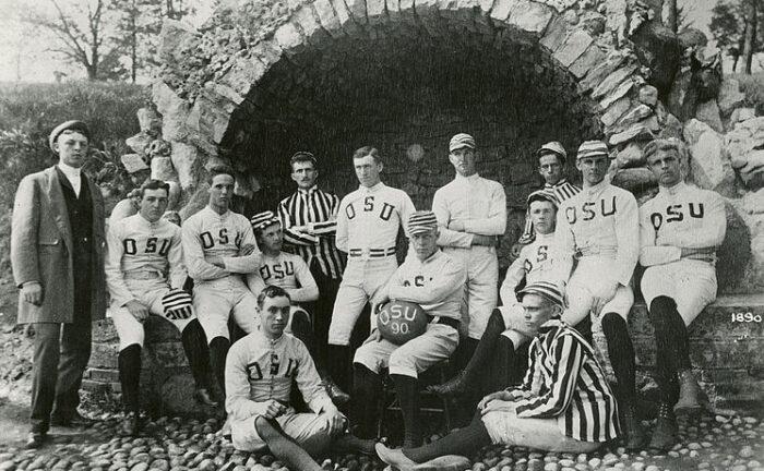 The First OSU-OWU Football Game