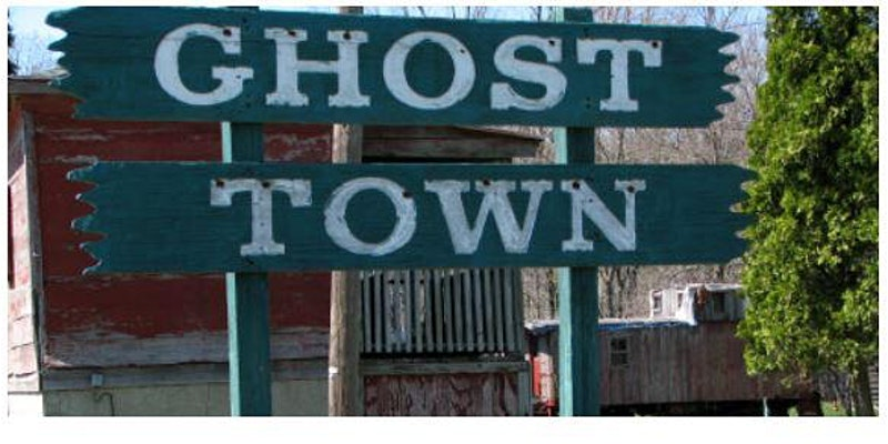 Ghost Towns of Ohio and Delaware County